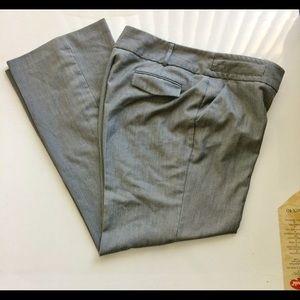 Harve Bernard Gray Trouser Pant Size 12.